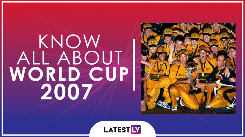 Know All About 2007 Cricket World Cup History Participants