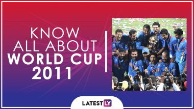 Know All About 2011 Cricket World Cup: History, Participants and Winner of the Tenth Edition of World Cup
