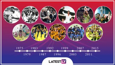 Cricket World Cup History: Winners, Host Nations, Participating Teams and Timeline of All the CWC From 1975 to 2015
