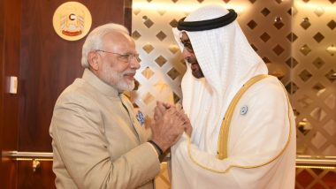 Abu Dhabi Crown Prince Sheikh Mohamed bin Zayed Al Nahyan Congratulate PM Narendra Modi on Lok Sabha Elections 2019 Win