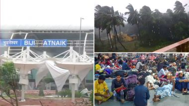 Cyclone Fani Video Clips Go Viral, Severe Winds Uproot Trees In Odisha Causing Havoc and Abrupting Lives, See Pics