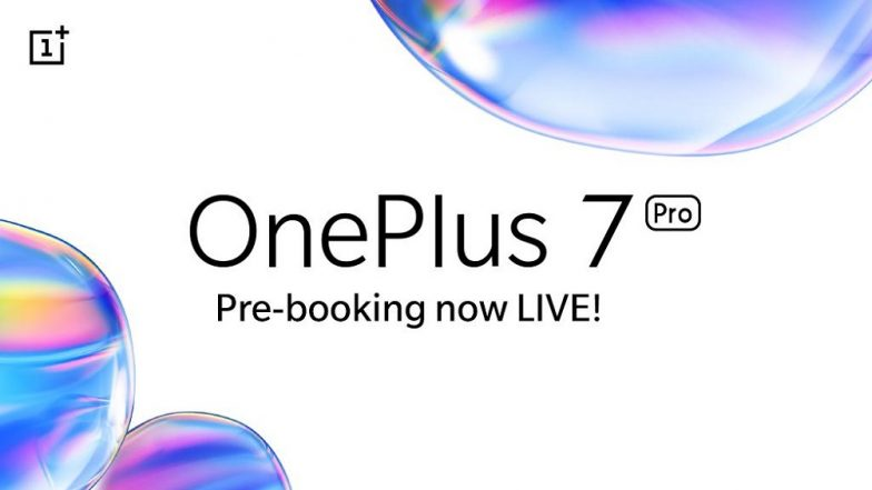 OnePlus 7, OnePlus 7 Pro pre-booking kicks off on Amazon India