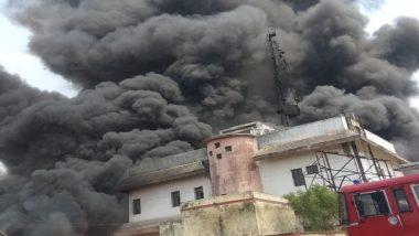 Uttar Pradesh: Fire Breaks Out in BSNL Tower Near Jaunpur's Sarai Khwaja, No Casualties Reported
