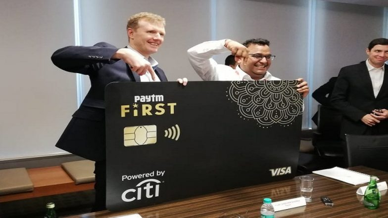 Paytm First Credit Card Launched in Partnership With Citi Bank, Offers 'Universal Unlimited Cashback'