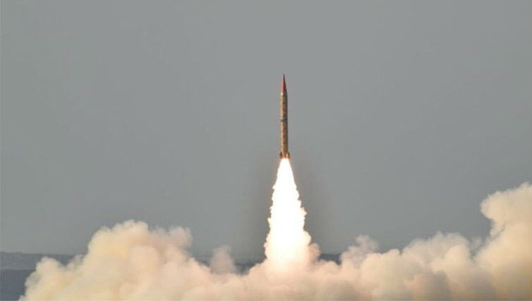 Pakistan Successfully Test-fires Ballistic Missile Shaheen-II Capable of Hitting Major Indian Cities