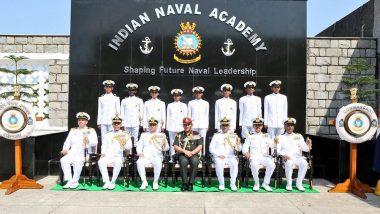 Army Chief General Bipin Rawat Reviews Passing Out Parade of 264 Cadets at Indian Naval Academy