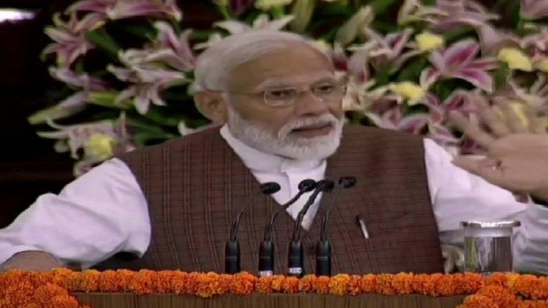 PM Narendra Modi Adrresses NDA Parliamentary Meet, Says '2019 Lok Sabha Elections Were Pro-Incumbency'