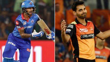 DC vs SRH IPL 2019 Eliminator: It Is Shikhar Dhawan vs Bhuvneshwar Kumar Among Key Battles for Delhi Capitals vs Sunrisers Hyderabad