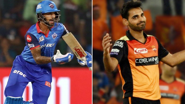DC vs SRH IPL 2019 Eliminator: It Is Shikhar Dhawan vs Bhuvneshwar Kumar Among Key Battles for Delhi Capitals vs Sunrisers Hyderabad
