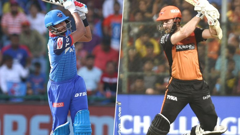 DC vs SRH, IPL 2019 Eliminator Match Predictions: Shreyas Iyer's Delhi Capitals or Kane Williamson's Sunrisers Hyderabad, Who Will Seal a Spot in IPL 12 Qualifier 2?