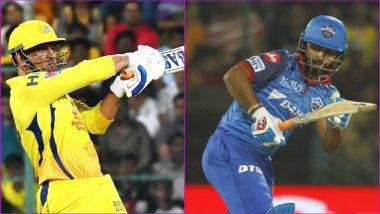 CSK vs DC IPL 2019 Qualifier 2: It Is MS Dhoni vs Rishabh Pant Among Key Battles for Chennai Super Kings vs Delhi Capitals