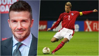 David Beckham's 45th Birthday Special: Best Moments From the Legendary English Footballer's Career