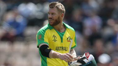 Australia Loses Three Early Wickets; David Warner Booed After his Dismissal During ENG vs AUS, CWC 2019 Semi-Final 2