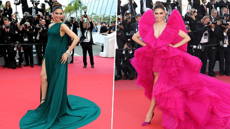Deepika Padukone at Cannes 2019: A Lookback at Indian Actress' Fashion Outings on the Cannes Film Festival Red Carpet