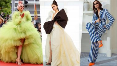 Deepika Padukone at Cannes 2019 Was All About Dramatic Gowns, Pinstripe Power Suit and Florals!