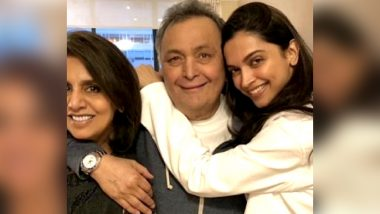 Deepika Padukone Meets Rishi Kapoor-Neetu Kapoor in New York and See How the Family Decides to Make This Meet-Up Memorable (View Pics)