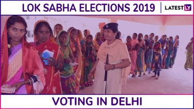Delhi Lok Sabha Elections 2019: Phase 6 Voting Ends in Chandni Chowk, New Delhi, South Delhi, East Delhi & 3 Other Parliamentary Constituencies; 55.51% Voter Turnout Recorded