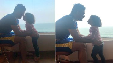 MS Dhoni and Ziva Are The Cutest Father-Daughter Duo Ever! See Their New Pics Posted by CSK Ahead of Their Match Against DC in IPL 2019 Qualifier 2