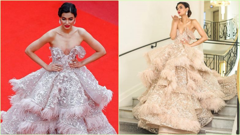 Diana Penty Dressed to Kill in Cannes Red Carpet Debut, View Pics of Actress in Extravagant Nedo by Nedret Taciroglu Couture