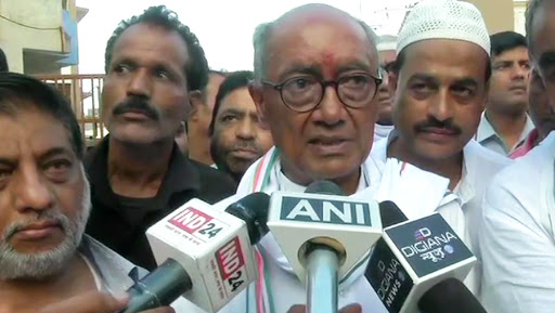 Digvijay Singh Misses Out of Polling in Phase 6 of Lok Sabha Elections 2019, Says 'I Regret'