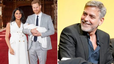 CONFIRMED! George Clooney is NOT Prince Harry-Meghan Markle's Baby Archie Harrison Mountbatten-Windsor's Godfather
