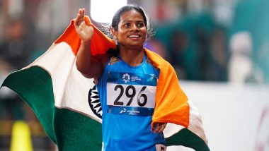 Dutee Chand Reveals Her Love for Politics on Twitter, Indian Athlete Discloses 'She Always Wanted to Join Politics Since Childhood'