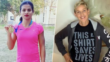 Dutee Chand Finds Strong Support in Ellen DeGeneres After Athlete Reveals She's in a Same-Sex Relationship (View Pic)