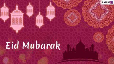Eid Mubarak 2019 Urdu Shayari: WhatsApp Stickers, GIF Image Greetings, Poetic SMS & Wishes to Send on Eid al-Fitr