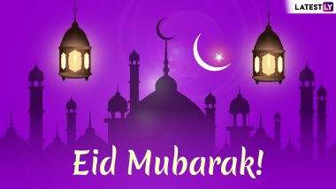 Eid Mubarak 2019 Greetings in Advance: WhatsApp Stickers, Chand Raat Mubarak Messages, GIF Images, SMS, Quotes to Send Eid al-Fitr Wishes