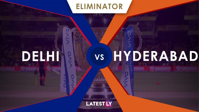 DC vs SRH, IPL 2019 Eliminator Live Cricket Streaming: Watch Free Telecast of Delhi Capitals vs Sunrisers Hyderabad on Star Sports and Hotstar Online