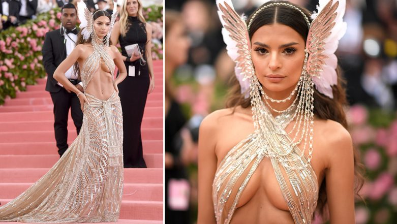 Met Gala 2019 Most Naked Dress: Emily Ratajkowski Shows a Lot of Skin in Barely-There Custom Dundas Gown (View Pics)