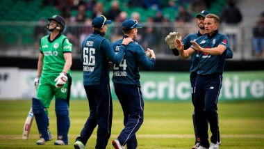 England Survive Scare, Beat Ireland by 4 Wickets