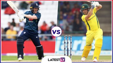 ENG vs AUS Live Cricket Score of ICC World Cup 2019 Warm-up Match: England Opt to Bowl vs Australia