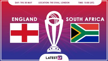 England vs South Africa, ICC Cricket World Cup 2019 Match Preview: ENG Aim to Dominate SA in CWC 2019 Opener
