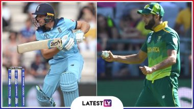 ENG vs SA, ICC Cricket World Cup 2019: Imran Tahir vs Jos Buttler and Other Exciting Mini Battles to Watch Out for at the Oval in London