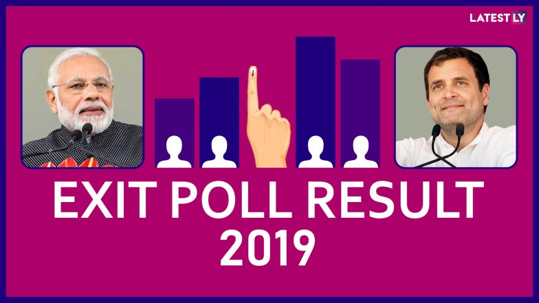 India Election Results 2019 Live Updates Exit Polls Show: Exit Poll Results By All Channels For Lok Sabha Elections