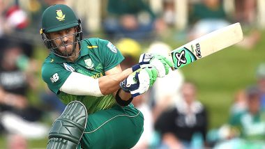 Faf du Plessis Steps Down as South Africa Captain from Tests and T20Is With Immediate Effect
