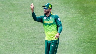 Faf du Plessis, Kagiso Rabada Return to South Africa Squad for Australia T20I Series