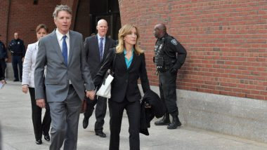 Hollywood Actress Felicity Huffman Pleads Guilty in College Admissions Scandal
