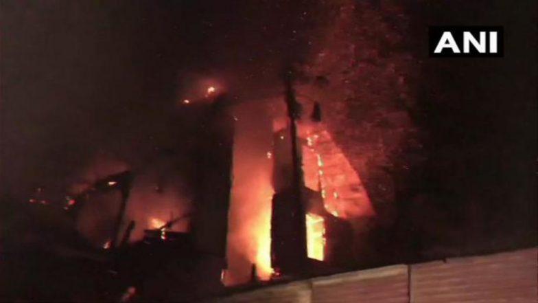 Massive Fire Breaks Out in Shimla's British-era Grand Hotel