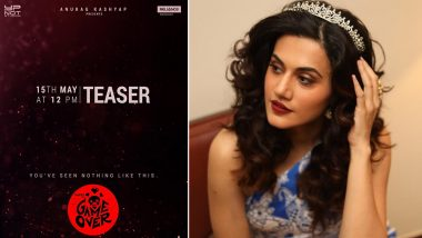 Here Is the Reason Why Taapsee Pannu Wanted to Do Game Over