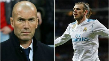 UEFA Champions League 2019–20: I'm Not Going to Stop Gareth Bale Doing Anything, Says Zinedine Zidane