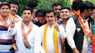 Lok Sabha Elections 2019 Results: Gautam Gambhir Leads East Delhi Constituency by Huge Margin; Atishi Disappoints