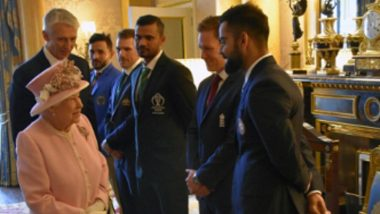 ICC Cricket World Cup 2019: Captains Meet Queen Elizabeth Before the Commencement of CWC19