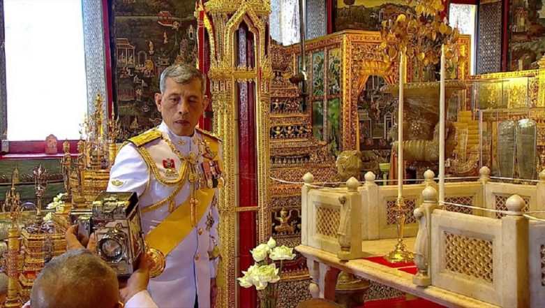 Thailand King Maha Vajiralongkorn Crowned in Day of Pomp and Centuries-old Splendour