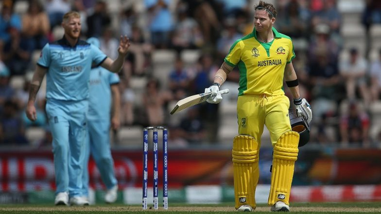 Steve Smith Booed Yet Again by Crowd During England vs Australia ICC World Cup 2019 Match at Lord's