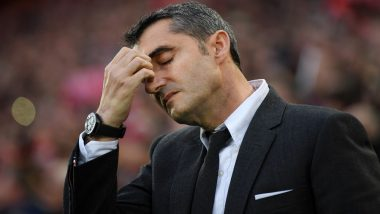 'It's Very Painful': Ernesto Valverde Rocked by Barcelona Collapse