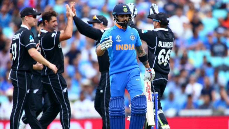 IND vs NZ, ICC Cricket World Cup 2019 Warm-Up Match: Indian Top-Order Cuts Sorry Figure in Practice Match Against New Zealand