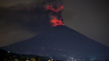 Volcano Erupts in Indonesia's Bali, Australian Flights Cancelled
