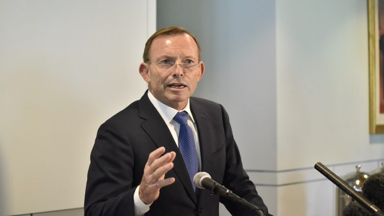 Ex-Australian PM Tony Abbott Bets USD 100 on No Climate Change in 10 Years